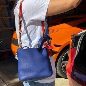 Authentic Hermès Picotin 18 Bleu Shapir